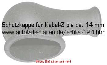 schutzkappe f r kabel bis ca 14 mm in kfz elektrik. Black Bedroom Furniture Sets. Home Design Ideas