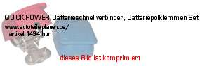 Bild vom Artikel QUICK-POWER Batterieschnellverbinder, Batteriepolklemmen-Set