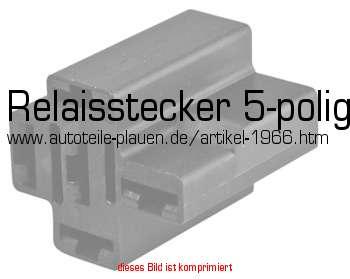 Relaisstecker 5-polig in KFZ-Elektrik > Kabelschuhe ...