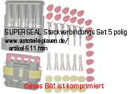 Bild vom Artikel SUPERSEAL Steckverbindungs-Set 5-polig