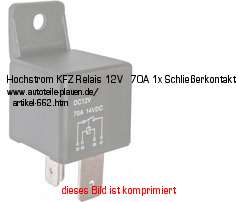 kfz elektrik kabelschuhe steckverbindunge kfz relais. Black Bedroom Furniture Sets. Home Design Ideas