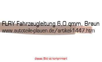 Leitung Fly 6,0 qmm rot Meterware