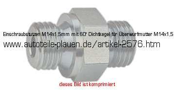 Benzinleitung Verbinder Rohr 8mm  Kupfer Stahl auf Kunststoff 6mm innen